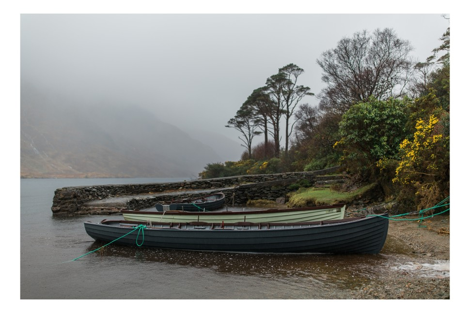 Connemara Fishing Boats by Cahill Photography